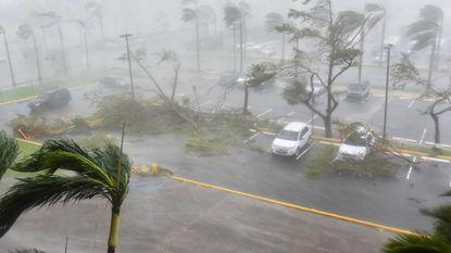 """Orkaan Maria raast over Puerto Rico: """"Dit is een nooit geziene storm"""""""