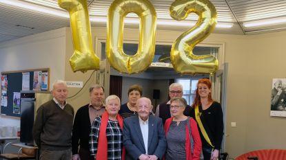 Laatste oud-strijder viert  102de verjaardag