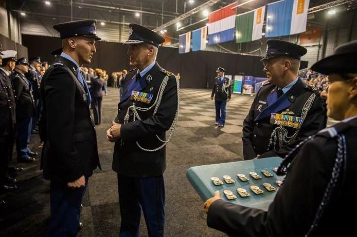 Medewerkers van Border Security Teams een bijzondere medaille gekregen