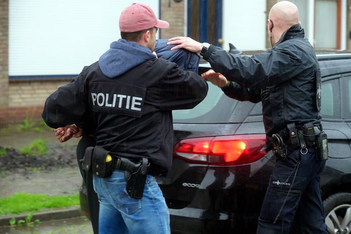 Aanhouding van de Roosendaalse verdachte van de kluisjesroof