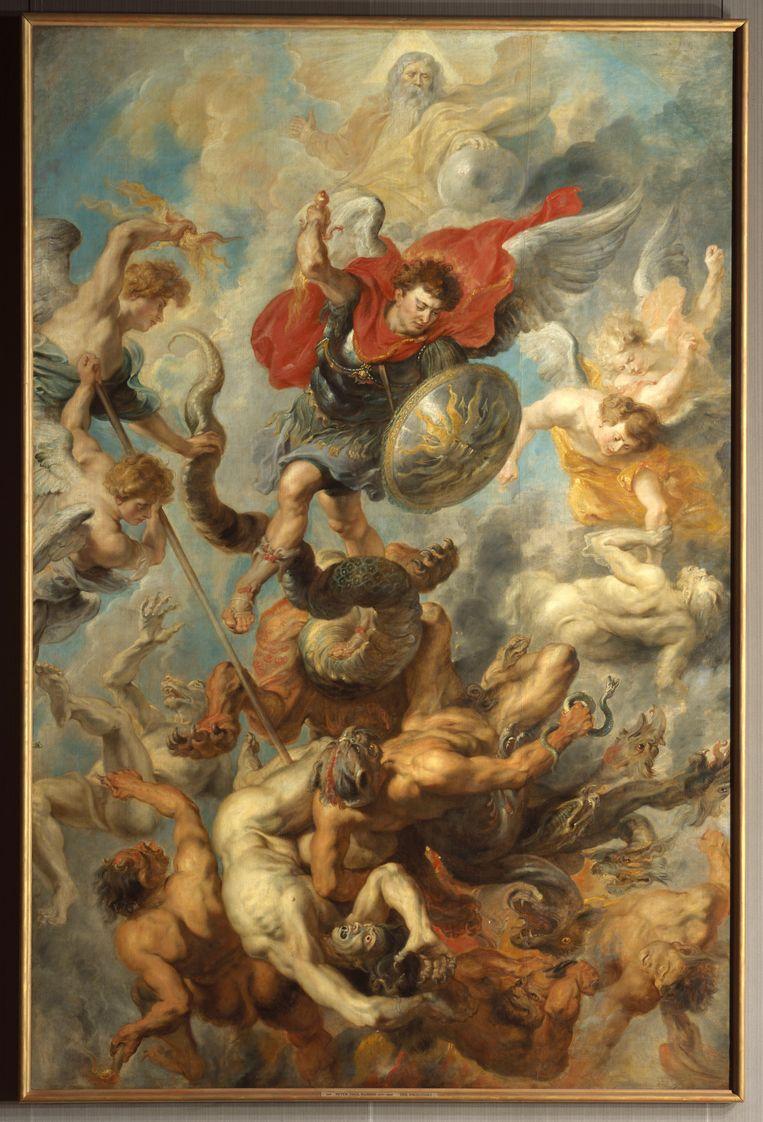 Peter Paul Rubens, Der Engelsturz, 1621/22.  Beeld Bayerische Staatsgemäldesammlungen - Alte Pinakothek München