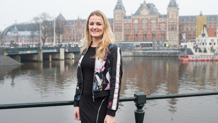 Paula Schot: 'Ons doel is een zetel, maar we blijven realistisch.' Beeld Simon Lenskens