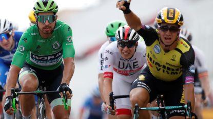 Dylan Groenewegen wint net als vorig jaar de langste etappe uit de Tour, Philipsen knap 5de