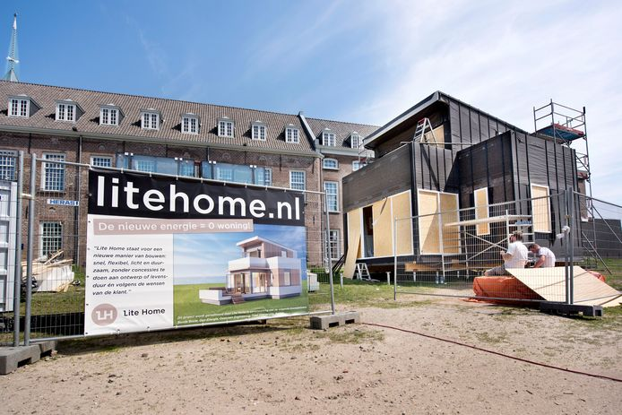 Nog niet zo lang geleden werd in Breda, naast het Holland Casino, nog geëxperimenteerd met tiny houses.