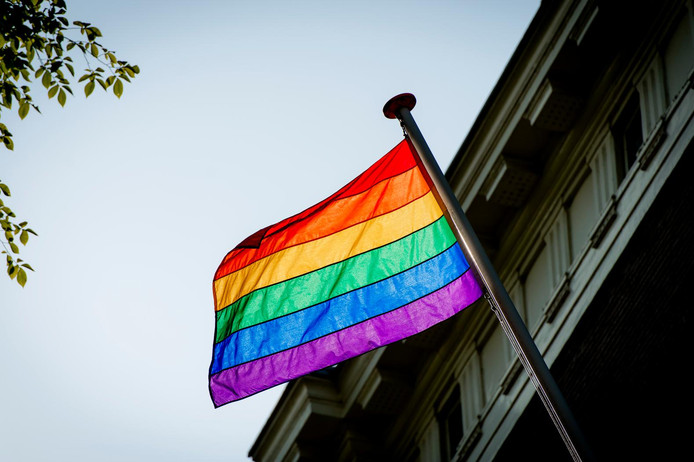 Regenboogvlag.