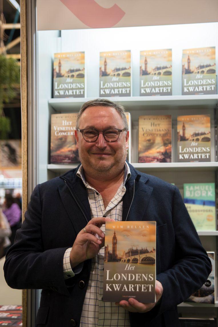 Wim Belaen heeft met 'Het Londens Kwartet' zijn tweede boek af.