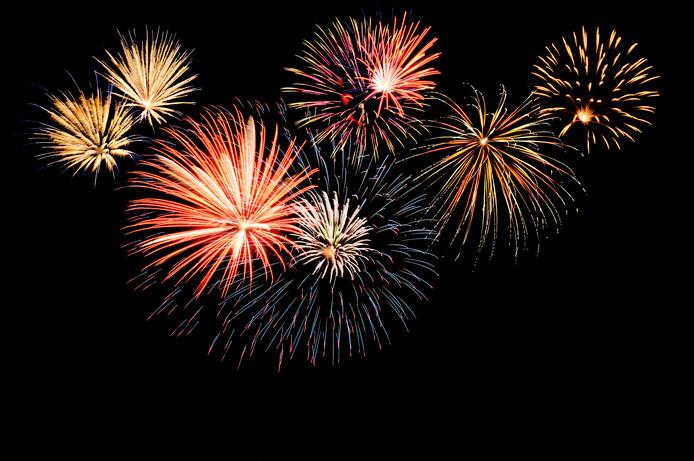stockadr nieuwjaar oudjaar jaarwisseling feest feestdagen vuurwerk vuurwerkshow siervuurwerk