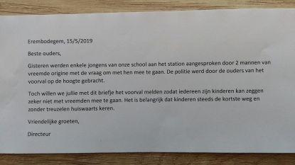 Schooldirectie schrijft briefje naar ouders om te waarschuwen voor 'kinderlokkers' aan station