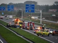 Ongeluk op A58 bij Middelburg veroorzaakt forse file