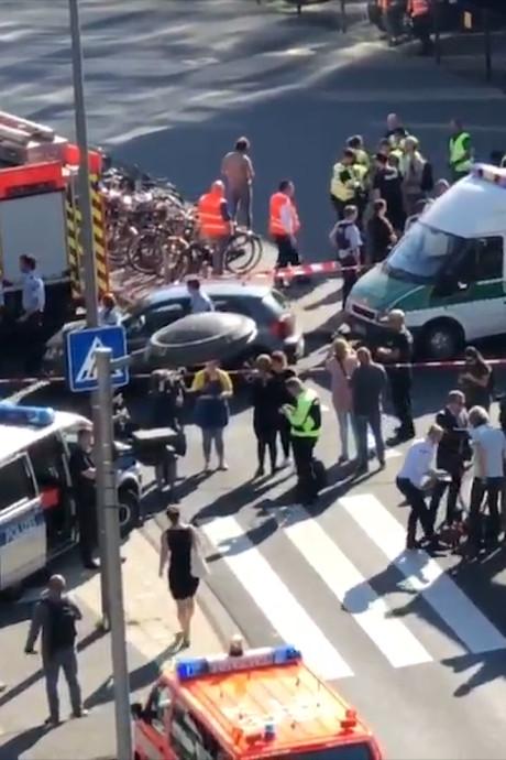 Politie overmeestert gijzelnemer in centraal station van Keulen