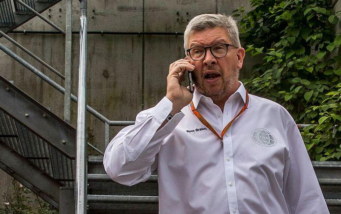 Ross Brawn, sportief directeur van de Formule 1.