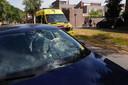 Ernstige aanrijding in Eindhoven.