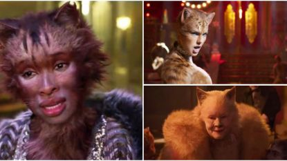 TRAILER. Zo zien Taylor Swift en Jennifer Hudson eruit als katten in de musical 'Cats'
