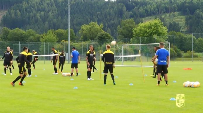 Vitesse op het trainingskamp in Oostenrijk, in juli van vorig jaar.