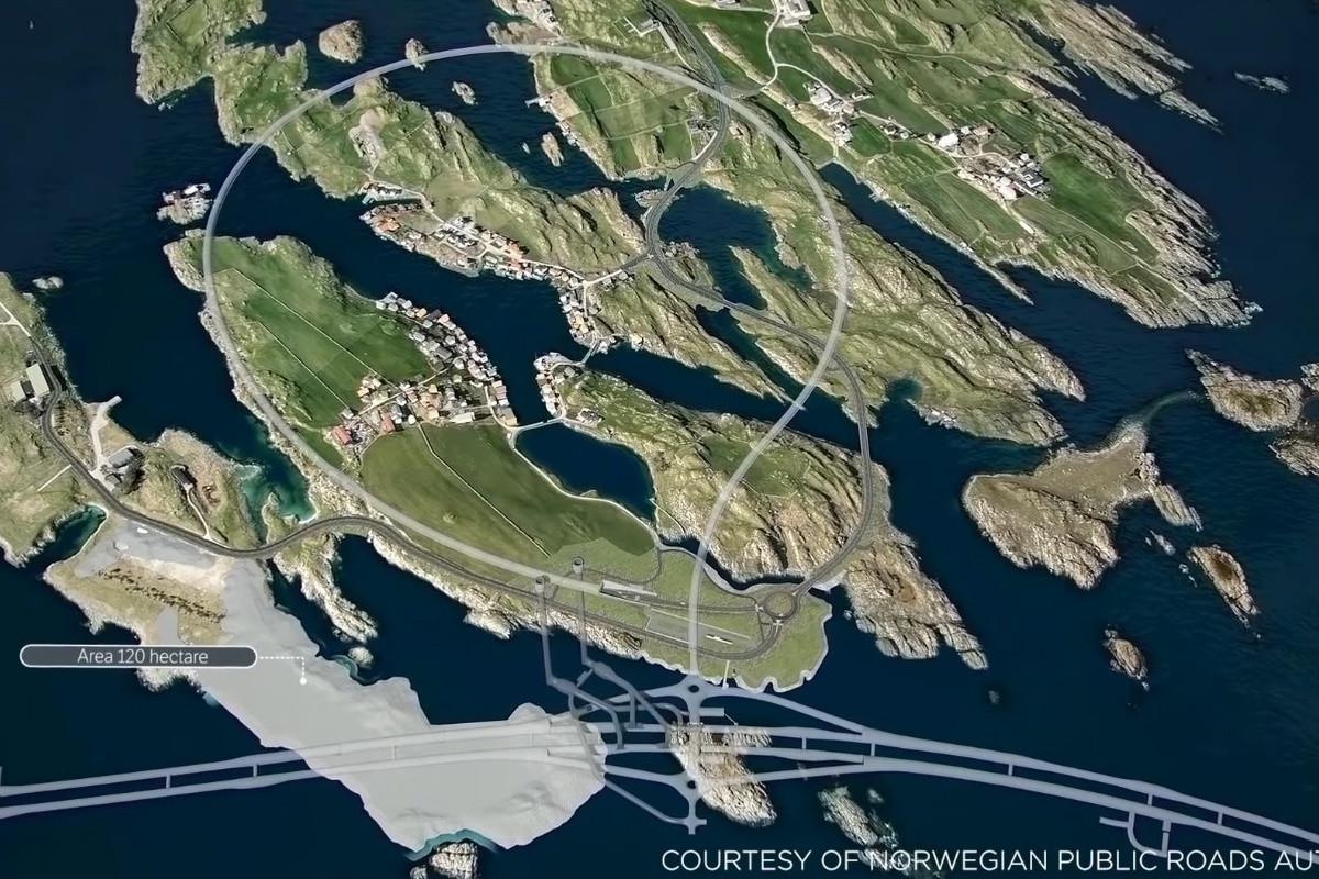 Noorse kustweg.