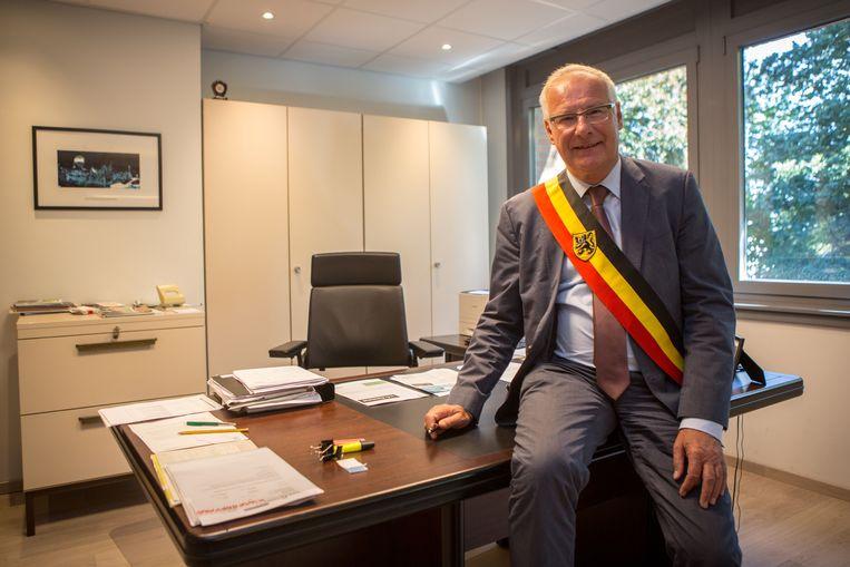 Burgemeester Luc Deconinck