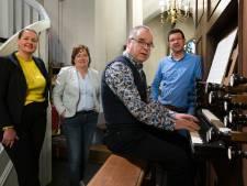 Oud krijgertje uit Haarendael kraakt in Dungense kerk: restauratie orgel is nodig