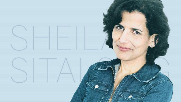 Sheila Sitalsing. Beeld de Volkskrant