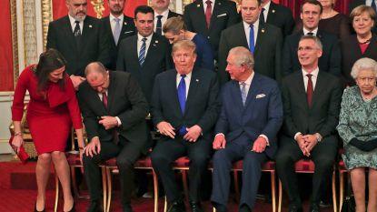 Premier Wilmès met echtgenoot naar NAVO-top