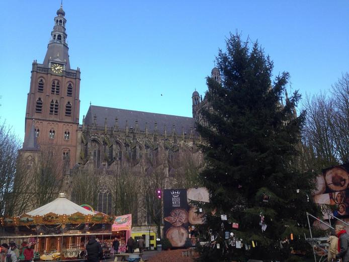 Joris' Kerstboom in Den Bosch.