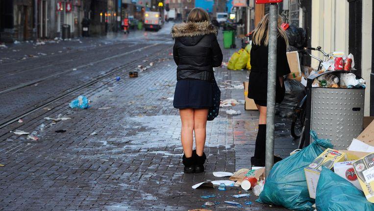 Er komen ook meer tijdelijke vuilnisbakken. Beeld anp