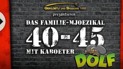 Studio 100 gecharmeerd door Kaboeter Dolf