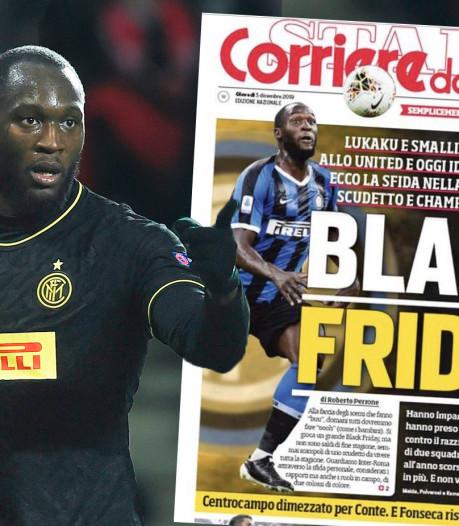 """""""Black Friday"""" avec Smalling et Lukaku: la une controversée du Corriere dello Sport"""