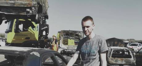 Stranddag werd voor Michael (20) de ergste dag van zijn leven: 'Mijn droom is volledig uitgebrand'