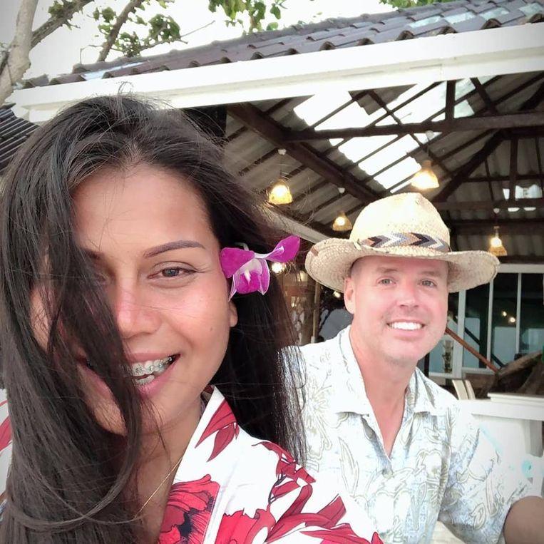 De 'eerste Seasteaders' Chad Elwartowski en Nadia Thepdet.