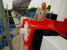 Molenaars van De Doornboom in Hilvarenbeek kunnen half oktober weer volop meel leveren aan de warme bakkers