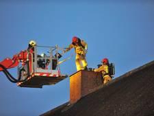 Schoorsteenbrand bij woonboerderij in Budel