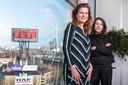 Nicole Babay (links) en Clementine van Meer, de huidige en voormalige manager van de Huishoudbeurs.