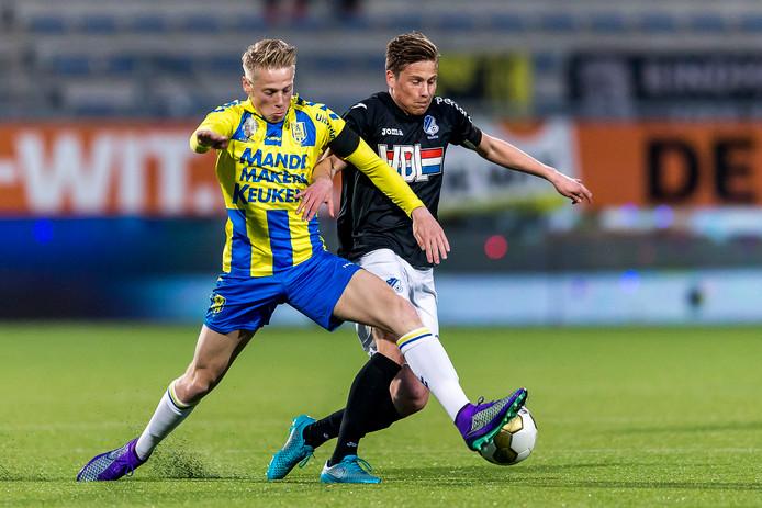 Philippe van Arnhem in het shirt van RKC.