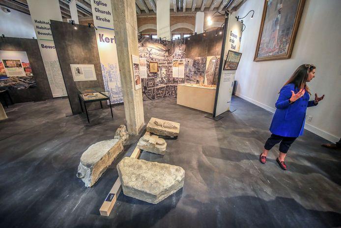 'Graven in de stad' was een van de hoogtepunten voor het Yper Museum in 2019.