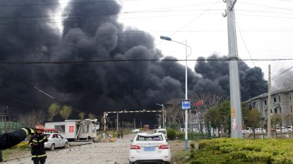 Al 44 doden na explosie in Chinees chemiebedrijf