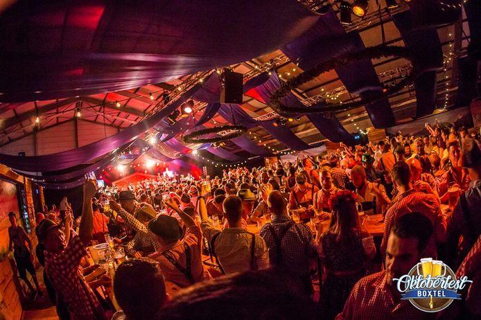 Het Oktoberfest Boxtel, vorig jaar in De Braken.
