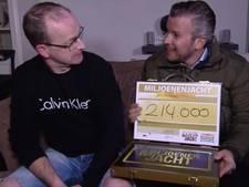 Bizar toeval: 's morgens boom op auto, 's avonds 214.000 euro van Miljoenenjacht