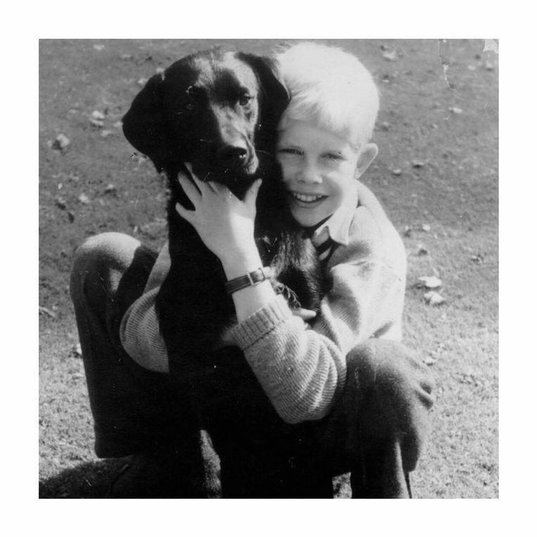 Lippens staat algemeen bekend als een dierenvriend, dat was al zo in zijn jonge jaren.