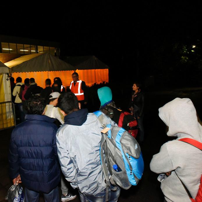 De aankomst van de vluchtelingen in Oisterwijk