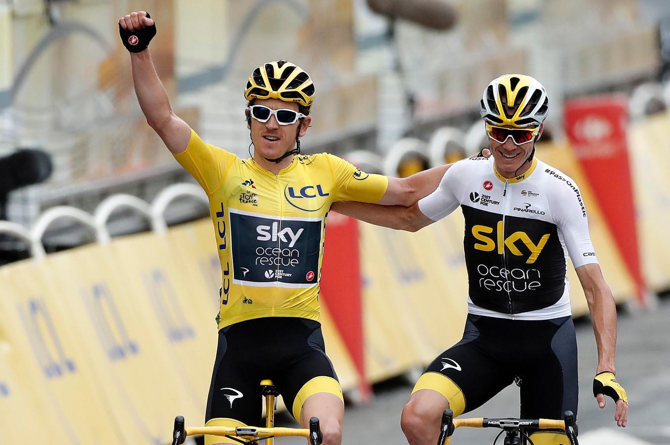 Vainqueur de la Grande Boucle en 2018 et deuxième l'an dernier, Geraint Thomas n'est pas emballé par l'idée d'un Tour de France à huis-clos l'été prochain.
