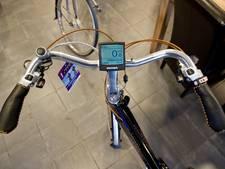 Dief laat e-bike met digi-slot staan