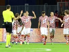 Kroatië stapje dichter bij WK na winst op Oekraïne