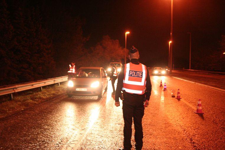 De politie controleerde in totaal 161 bestuurders
