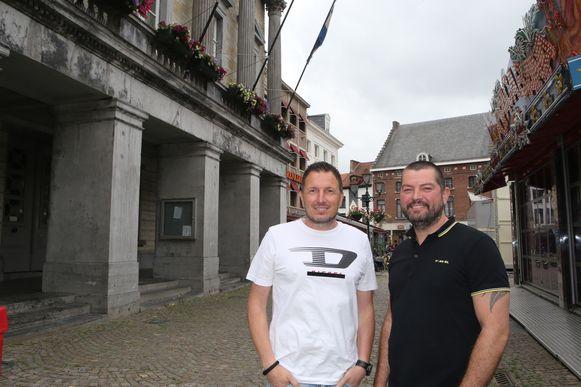 De organisatoren van Sweet City Festival Tim Mans en Wim Ottenbourg.