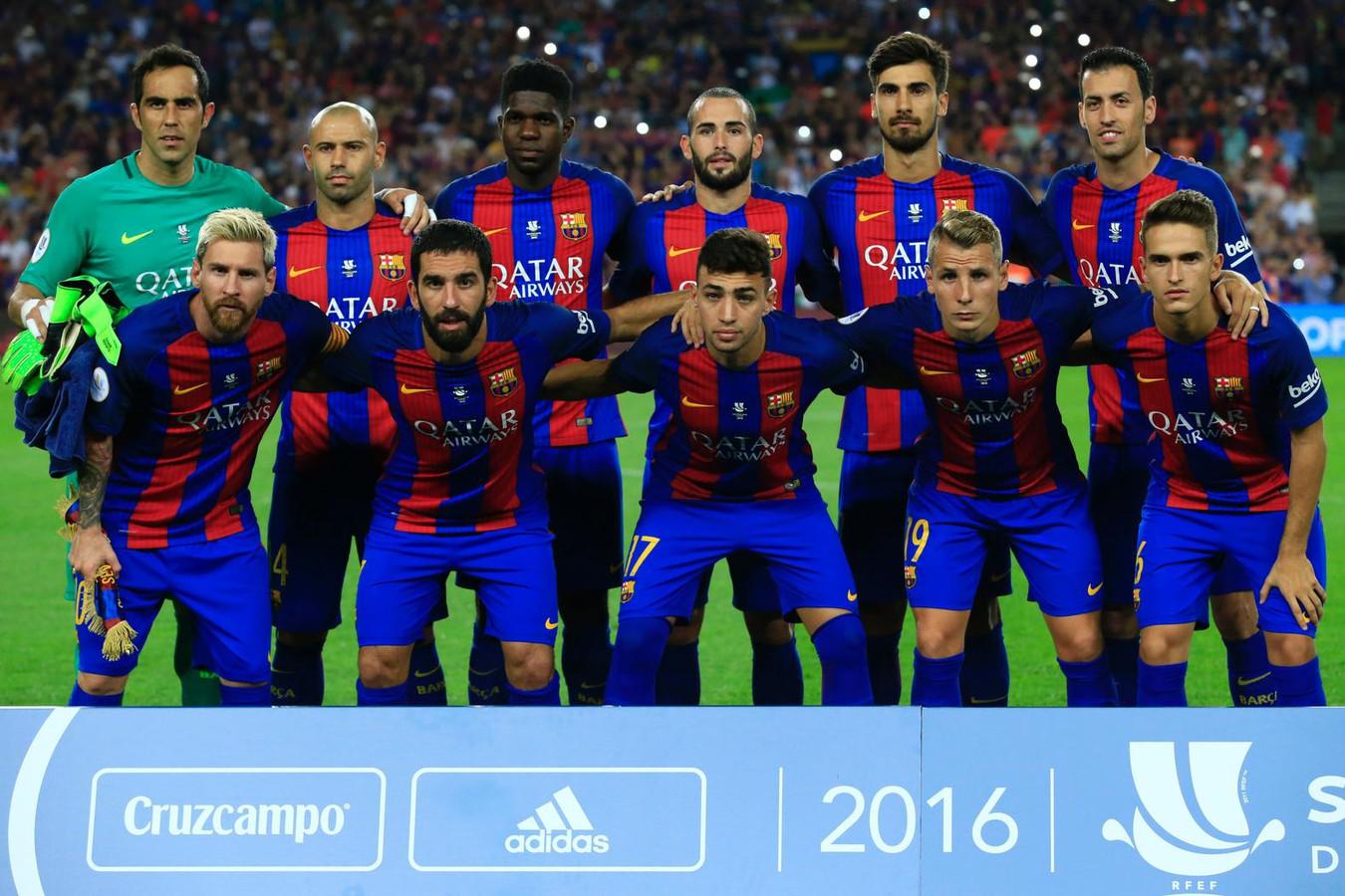 Barcelona Fc Foto >> FC Barcelona wint twaalfde Spaanse Supercup | Foto | AD.nl
