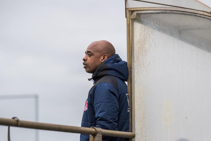 Marlon Keizer, trainer van Arnhemia.