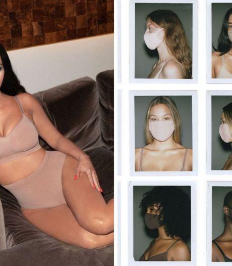Kim Kardashian lance une gamme de masques en tissu