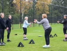 Een appje van de trainer van 'Borne Beweegt': dat motiveert!