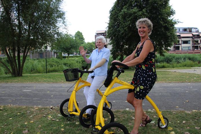 """Sophia Hendriks (86): """"Voor mijn 85e verjaardag vroeg ik een step."""""""