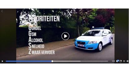 Politie post filmpje op Facebook: 'Daarom zijn 'vervelende' verkeerscontroles nodig'